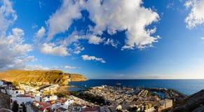 Puerto de Mogan bay Stock Photography