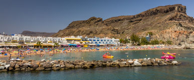 Puerto de Mogan beach Stock Photo