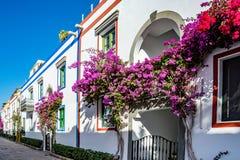 Puerto de Mogan, a beautiful, romantic town on Gran Canaria, Spain Royalty Free Stock Image