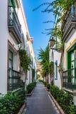 Puerto de Mogan, a beautiful, romantic town on Gran Canaria, Spain Stock Photos