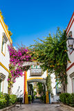 Puerto de Mogan, a beautiful, romantic town on Gran Canaria, Spain royalty free stock photo