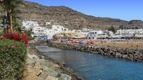 Puerto DE Mogan bij de Canarische Eilanden Gran Canaria Stock Fotografie