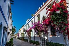 Puerto DE Mogan, een mooie, romantische stad op Gran Canaria, Spanje stock foto