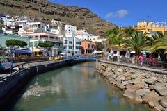 Puerto DE Mogan, Gran Canaria stock foto's