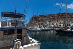 Puerto de Mogan, Gran Canaria Fotos de Stock Royalty Free