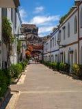 Puerto de Mogan, Gran Canaria. Alley in Puerto de Mogan, Gran Canaria Royalty Free Stock Photography