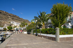 Puerto de Mogan Stock Photography