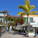 Puerto de Mogan Stock Photography