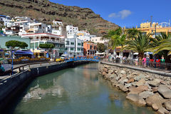 Puerto de Mogan, Gran Canaria Stock Photos