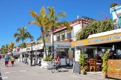 Puerto de Mogan, Gran Canaria Stock Photography