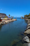 Puerto de Mogan, Gran Canaria. Port of Puerto de Mogan, Gran Canaria Stock Photo