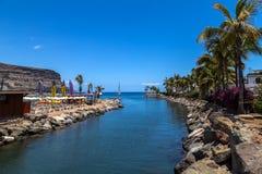 Puerto de Mogan, Gran Canaria. Port of Puerto de Mogan, Gran Canaria Royalty Free Stock Image