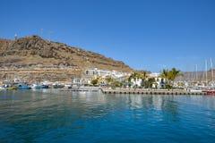 Puerto de Mogan Gran Canaria Spain Royalty Free Stock Images