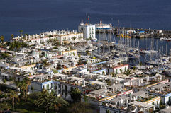Puerto de Mogan, Grand Canary Stock Photography