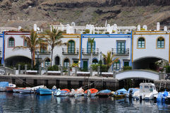 Puerto de Mogan, Grand Canary Stock Images