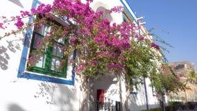 Puerto de Mogan by i Gran Canaria, Spanien Berömd touristic destination i kanariefågelöar arkivfilmer