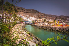Puerto de Mogan Royalty Free Stock Photos