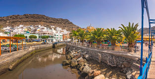 Puerto de Mogan Royalty Free Stock Image