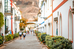 Puerto de Mogan village Stock Images