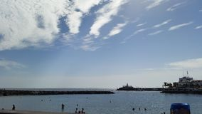 Puerto de Mogan. Wonderful View to the beach of Puerto de Mogan on Gran Canaria Royalty Free Stock Photos