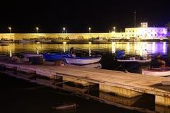 Puerto de Molfetta fotografía de archivo