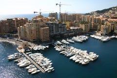 Puerto de Monte Carlo Foto de archivo