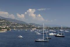 Puerto de Monte Carlo Imagen de archivo