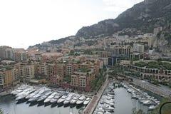 Puerto de Monte Carlo Fotos de archivo