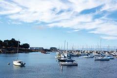 Puerto de Monterey Imágenes de archivo libres de regalías