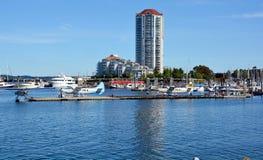 Puerto de Nanaimo Foto de archivo libre de regalías
