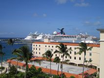 Puerto de Nassau Fotos de archivo