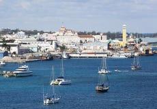 Puerto de Nassau Fotografía de archivo libre de regalías