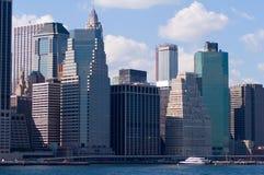 Puerto de New York City Foto de archivo libre de regalías