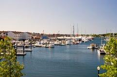 Puerto de Newport Fotos de archivo libres de regalías