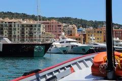 Puerto de Niza Imagen de archivo libre de regalías