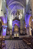 Puerto de Notre Dame du bon de la iglesia - d'Olonne de los Sables de Les imagen de archivo libre de regalías