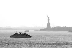 Puerto de Nueva York Imagen de archivo libre de regalías