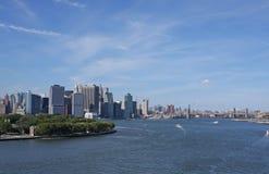 Puerto de Nueva York Imágenes de archivo libres de regalías