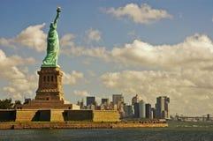 Puerto de Nueva York fotografía de archivo libre de regalías
