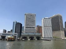 Puerto de Nueva York Imagenes de archivo