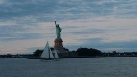 Puerto de NY Imágenes de archivo libres de regalías