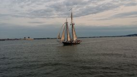Puerto de NY Foto de archivo