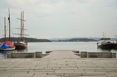 Puerto de Olso Imagen de archivo