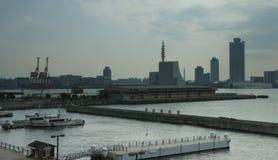 Puerto de Osaka Imagen de archivo libre de regalías