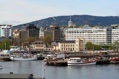 Puerto de Oslo Imagenes de archivo