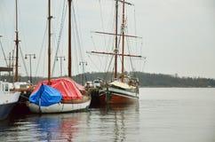 Puerto de Oslo Foto de archivo libre de regalías