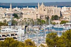 Puerto de Palma de Mallorca imagenes de archivo