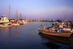 Puerto de Paphos Foto de archivo libre de regalías