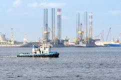 Puerto de Pasir Gudang Fotografía de archivo libre de regalías