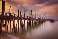 Puerto de Penang Foto de archivo libre de regalías